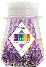 """Voňavky, Parfémy, kozmetika Gélový osviežovač s kryštálmi """"Levanduľa"""" - Airpure Colour Change Crystals Lavender Moments"""