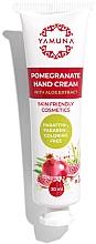 Voňavky, Parfémy, kozmetika Krém na ruky z granátového jablka s aloe vera - Yamuna Pomegranate Hand Cream With Aloe Vera