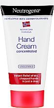 Voňavky, Parfémy, kozmetika Koncentrovaný krém na ruky - Neutrogena Norwegian Formula Concentrated Unscented Hand Cream