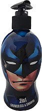 Voňavky, Parfémy, kozmetika Detský šampón sprchový gél - Corsair Batman 2in1 Shower Gel&Shampoo
