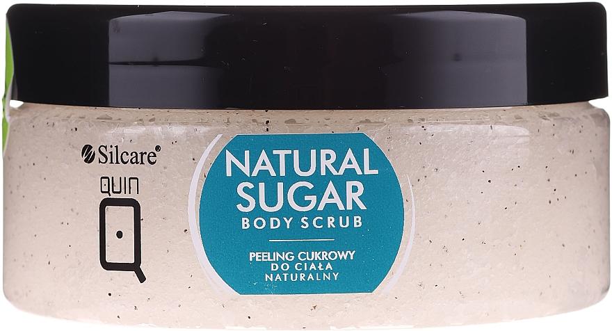 Prírodný telový cukrový peeling - Silcare Quin Natural Sugar Body Scrub