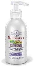 "Voňavky, Parfémy, kozmetika Tekuté Marseilles mydlo ""Levanduľa"" - Ma Provence Liquid Marseille Soap lavender"