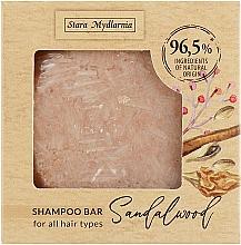 Voňavky, Parfémy, kozmetika Tuhý šampón Santalové drevo - Stara Mydlarnia Bodychillout Sandalwood Shampoo Bar