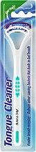 Voňavky, Parfémy, kozmetika Kefa škrabka pre jazyk, biela-zelená - Beauty Formulas Active Oral Care Tongue Cleaner