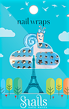 Voňavky, Parfémy, kozmetika Nálepky na nechtový dizajn - Snails Nail Wraps