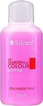 """Voňavky, Parfémy, kozmetika Tekutina na odstránenie laku """"Jahoda"""" - Silcare The Garden Of Colour Aceton Strawberry Pink"""
