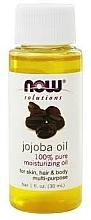 Voňavky, Parfémy, kozmetika Jojobový olej - Now Foods Solutions Jojoba Oil