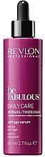 Voňavky, Parfémy, kozmetika Anti-age sérum pre normálne a husté vlasy - Revlon Professional Be Fabulous Daily Care Anti-Aging Serum