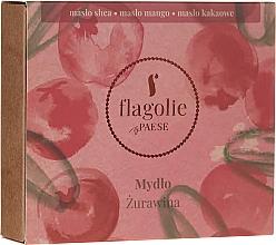 """Voňavky, Parfémy, kozmetika Prírodné mydlo na ruky a telo """"Brusnica"""" - Flagolie by Paese Cranberry"""