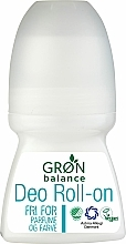 Voňavky, Parfémy, kozmetika Guličkový dezodorant - Gron Balance Deo Roll-On