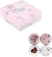 Voňavky, Parfémy, kozmetika Sada šumivých bômb do kúpeľa - Chantilly Soft Rose