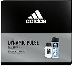 Voňavky, Parfémy, kozmetika Adidas Dynamic Pulse - Sada (edt/50ml + sh/gel/250ml)