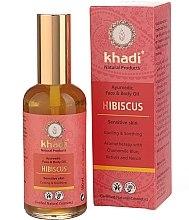 "Voňavky, Parfémy, kozmetika Olej na tvár a telo ""Ibištek"" - Khadi"