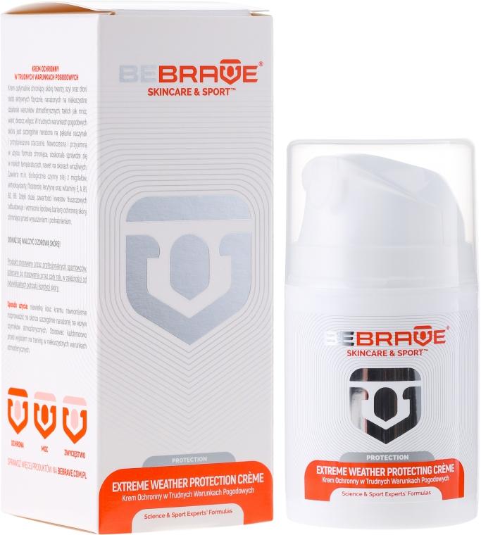 Ochranný krém pred nepriaznivými poveternostnými podmienkami - BeBrave Extreme Weather Protecting Creme — Obrázky N1