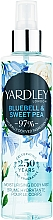 Voňavky, Parfémy, kozmetika Yardley Bluebell & Sweet Pea - Telový sprej