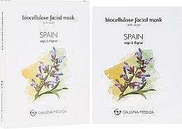 """Voňavky, Parfémy, kozmetika Textilná maska """"Španielsko"""" - Calluna Medica Spain Anti-Acne Biocellulose Facial Mask"""