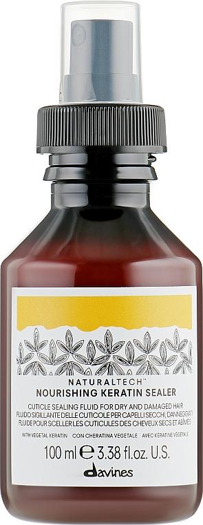 Výživný keratínový fluid - Davines Natural Tech Nourishing Keratin Booster