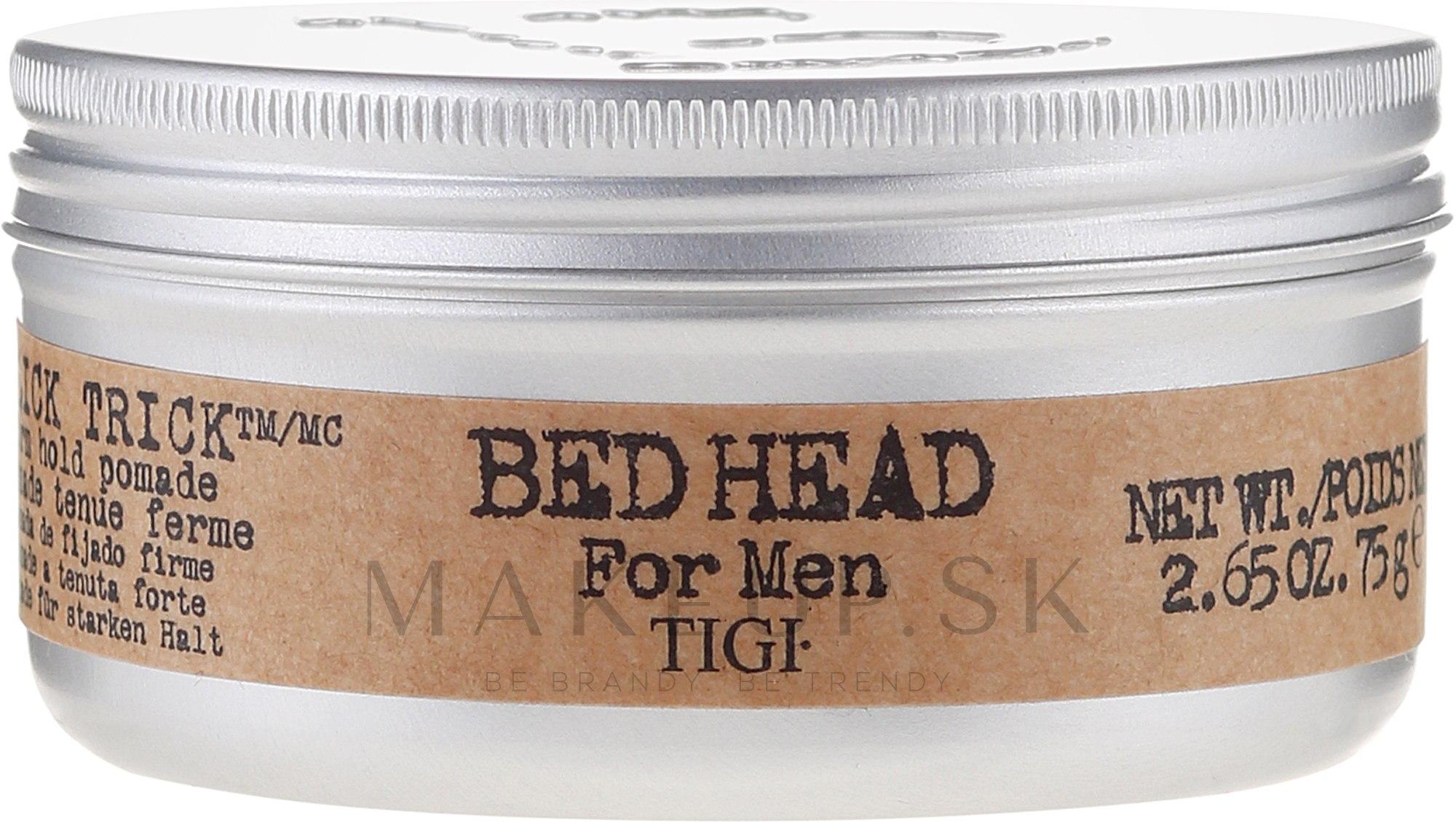 Stylingový gél silné spevnenie - Tigi Bed Head For Men — Obrázky 75 g