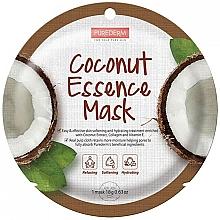 Voňavky, Parfémy, kozmetika Pleťová maska s kokosovým extraktom - Purederm Coconut Essence Mask