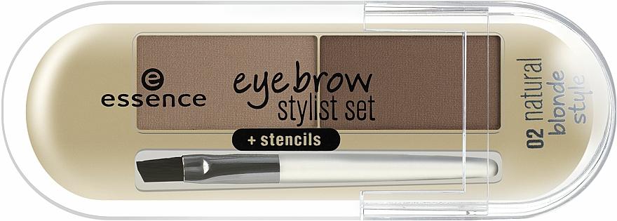 Púder na obočie - Essence Eyebrow Stylist