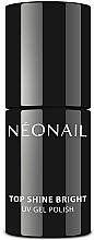 Voňavky, Parfémy, kozmetika Top na gélový lak žiarivý - NeoNail Professional Top Shine Bright UV Gel Polish
