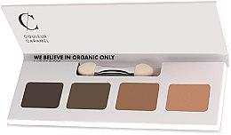 Voňavky, Parfémy, kozmetika Paleta očných tieňov - Couleur Caramel Bio Sublime Eye Palette