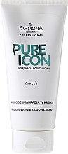 Voňavky, Parfémy, kozmetika Mikrodermálny peeling - Farmona Professional Pure Icon Microdermabrasion Cream
