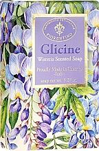 """Voňavky, Parfémy, kozmetika Prírodné mydlo """"Vistéria"""" - Saponificio Artigianale Fiorentino Masaccio Wisteria Soap"""