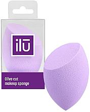 Voňavky, Parfémy, kozmetika Špongia pre make-up s plochým rezom, fialová - Ilu Sponge Olive Cut Purple