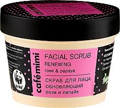 """Voňavky, Parfémy, kozmetika Scrub na tvár """"Obnovujuci"""" - Cafe Mimi Facial Scrub Renewing"""