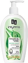 Voňavky, Parfémy, kozmetika Micelárny gél pre intímnu hygienu s aloe - AA Intymna Intimate Micellar Gel