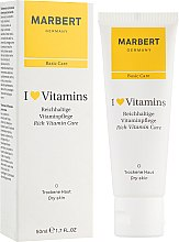 Voňavky, Parfémy, kozmetika Krém na suchú pokožku - Marbert I Love Vitamins Rich Vitamin Care