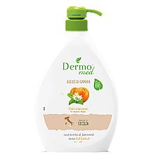 """Voňavky, Parfémy, kozmetika Krémové mydlo """"Pomarančový kvet"""" - Dermomed Orange Blossom Cream Soap"""