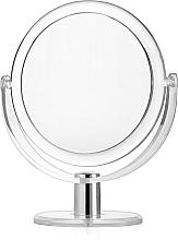 Voňavky, Parfémy, kozmetika Obojstranné kozmetické zrkadlo v ráme, 16 cm - Titania