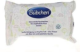 Voňavky, Parfémy, kozmetika Vlhčené čistiace obrúsky - Bubchen Sensitive Care