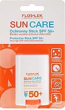 Voňavky, Parfémy, kozmetika Ochranný opaľovací krém v tyčinke SPF50+ - Floslek Sun Care Protective Stick SPF50+