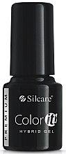 Voňavky, Parfémy, kozmetika Gélový lak na nechty - Silcare Color IT Premium Hybrid Gel