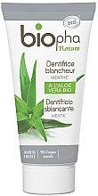 Voňavky, Parfémy, kozmetika Bieliaca zubná pasta s mentolom - Biopha Nature Toothpaste Menthe