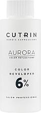 Voňavky, Parfémy, kozmetika Oxidačné činidlo 6% - Cutrin Aurora Color Developer
