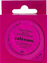 """Voňavky, Parfémy, kozmetika Vyhlazovacia expresná tvárová maska """"Mladosť a pružnosť pleti"""" s extraktom z magnólie - Cafe Mimi Smoothing Facial Express-Mask"""