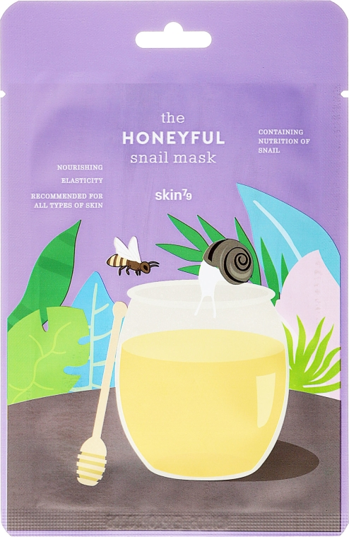 Maska na tvár - Skin79 The Honeyful Snail Mask