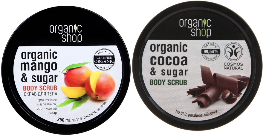 Sada - Organic Shop (b/scrub/2x250ml)