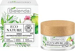 Voňavky, Parfémy, kozmetika Krém na tvár - Bielenda Eco Nature Coconut Water Green Tea & Lemongrass Face Cream