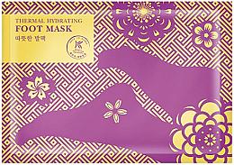Voňavky, Parfémy, kozmetika Otepľujúca a zvlhčujúca maska-ponožky na nohy - Avon