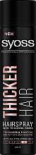 Voňavky, Parfémy, kozmetika Lak na vlasy s vláknami na zahustenie vlasov extra silnej fixácie - Syoss Thicker Hair
