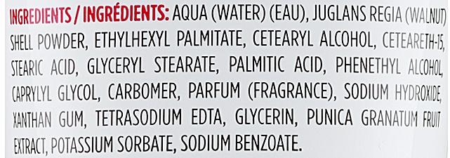 Scrub na telo - Naturalium Invigorating Pomegranatet Scrub — Obrázky N3