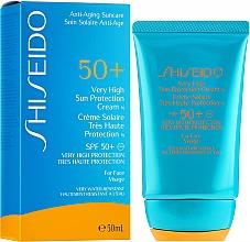 Voňavky, Parfémy, kozmetika Krém ochranný opaľovací na tvár - Shiseido Very High Sun Protection SPF50