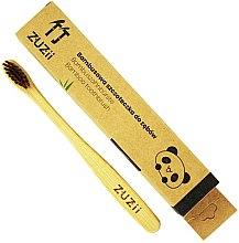 Voňavky, Parfémy, kozmetika Detská zubná kefka s mäkkými hnedými štetinami - Zuzii Kids Soft Toothbrush