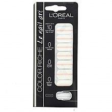 Voňavky, Parfémy, kozmetika Nalepky na nechty - L'Oreal Paris Stickers Color Riche Le Nail Art