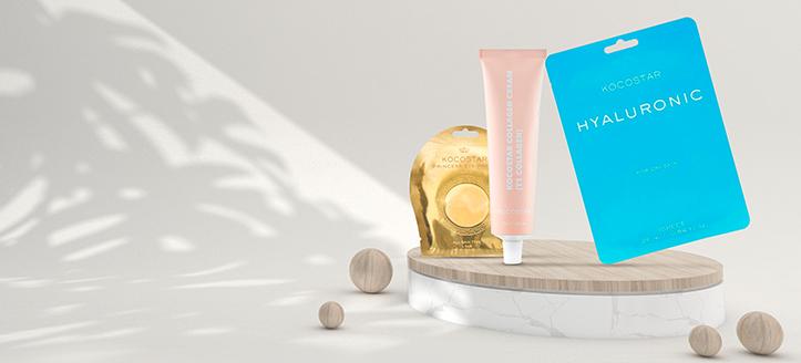 Získaj pleťovú masku ako darček pri nákupe produktov Kocostar v hodnote vyše 12 €
